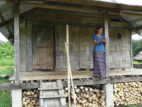 la petite maison dans le village