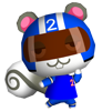 Ninjette animal crossing WII
