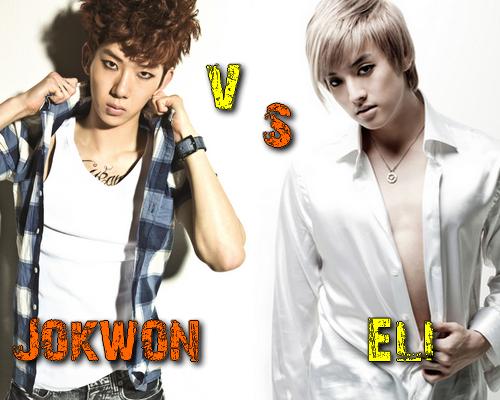 Jo Kwon (2AM) vs Eli (U-Kiss) - Round 33