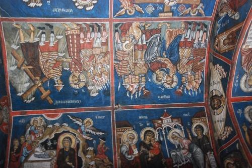 Panagia Tis Asinou et ses fresques, à Zypre (photos)