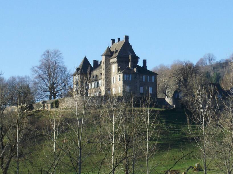 """Résultat de recherche d'images pour """"chateau  saint-Chamant cantal"""""""