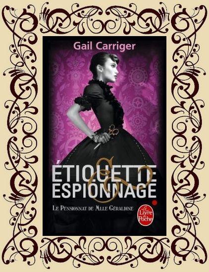Le Pensionnat de Mlle Géraldine, t1 : Etiquette & Espionnage