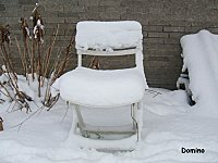 chaise neige