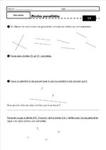 Fiches de géométrie