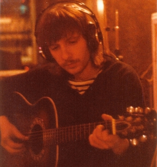 1981 - Pierre-Michel en studio à Paris