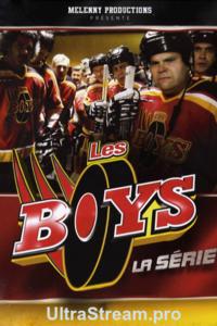 Les boys : Les Boys met en scène un groupe d'hommes, d'âges et de professions différentes, qui jouent au hockey une fois par semaine ensemble dans une équipe de hockey amateur, Les Boys. Les films et la série télévisée offrent aux spectateurs une vision de la vie personnelle et professionnelle de chaque membre des Boys, à travers leurs déceptions, leurs péripéties et leurs parties de hockey. ... ----- ... Langue du Film: VFQ Diffusion d'origine: 2007-2012 Nationalité: Québec Canada Genre: comédie sportive Cast: Réalisateur : Louis Saia, Acteurs : Rémy Girard, Yvan Ponton, Patrice Robitaille, Pierre Lebeau, Marc Messier
