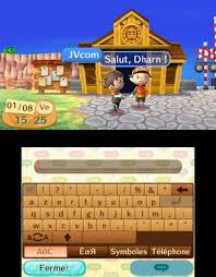 Tchat animal crossing