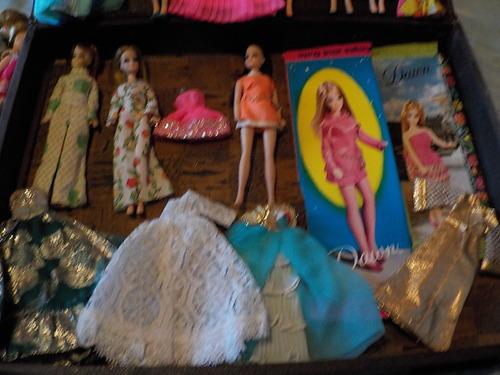 DOMANDALAS  mes poupées d'enfance Dawn et son monde merveilleux