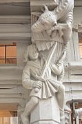 """Dans la belle ville d'Angers, la maison d'Adam ou """" arbre de vie """""""