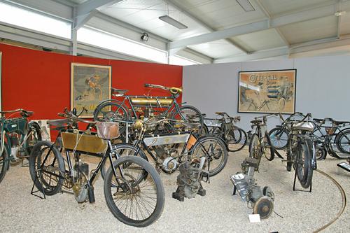 Les motos du musée d'Amnéville vendues !