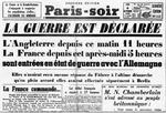 3 sept. 1939: la France entre en guerre