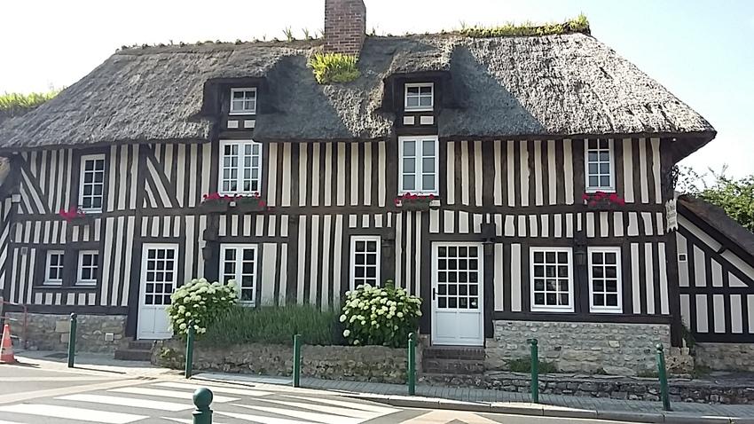 Vauville - le village où nous étions à 6 kms de Deauville dans les terres..