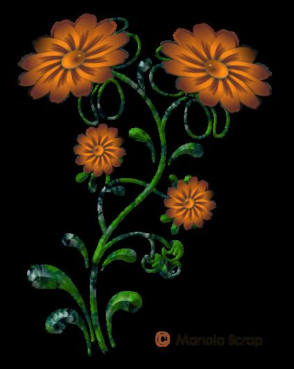 Fleurs vectoriel page 1