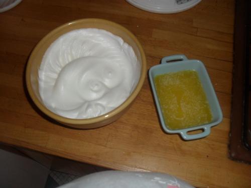 et puis des petits cakes aux fruits sec et fruits confit pour le dessert et le petit déjeuner^^