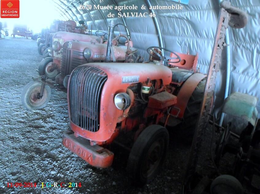 VACANCES 11/09/2014 musée de SALVIAC  46 3/5 D 07/02/2015