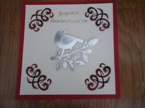 Ronde anniversaire : mon envoi à Astrid (nénuphar)