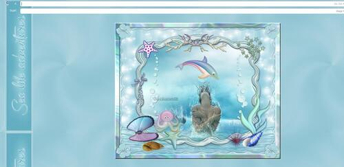 Papier IM - Sea life adventures
