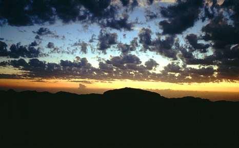 Ciel sur Israël