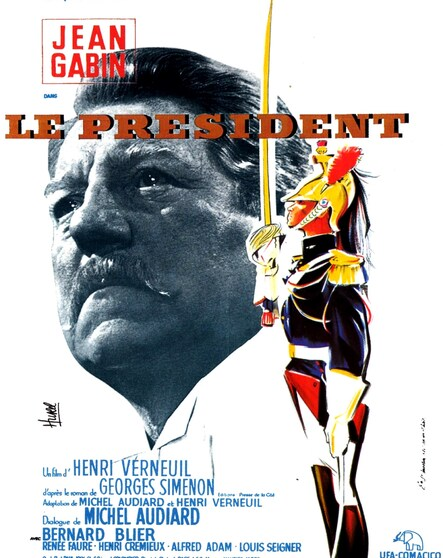LE PRESIDENT - BOX OFFICE JEAN GABIN 1961