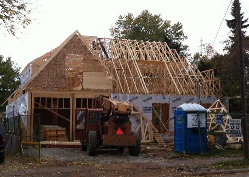 De la cabane en bois au manoir en bois