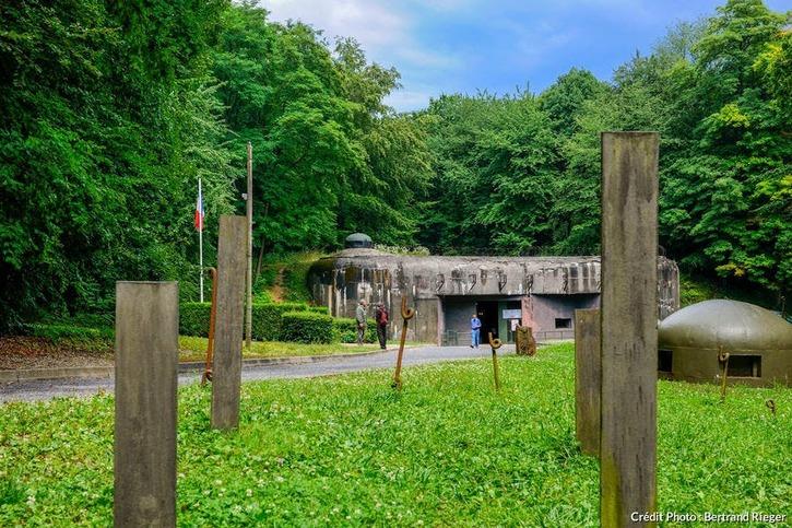 Le fort Shoenenbourg à Hunspach