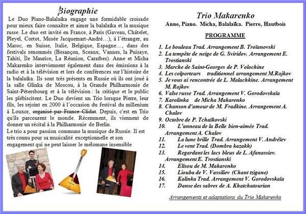 Un superbe concert fêtera les vingt ans de l'Association des Amis du Musée du Pays Châtillonnais-Trésor de Vix