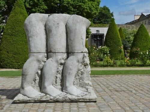 Dewar et Gicquel sculptures Architecture Musée Rodin