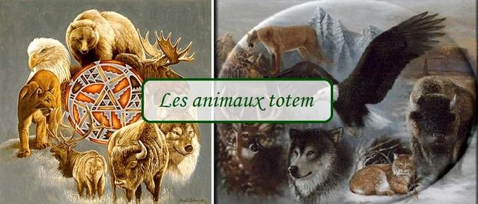 Les animaux totem