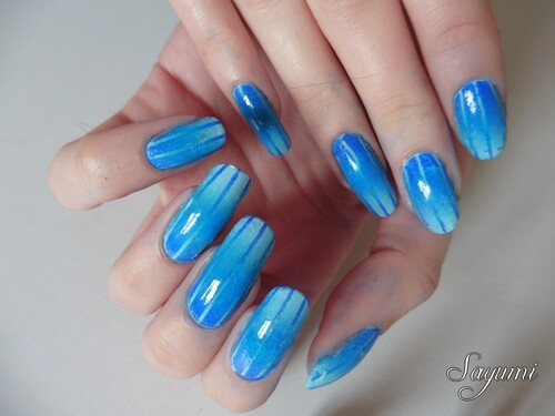 Nail Art Reciprocal Gradient