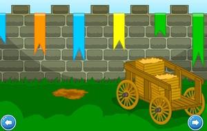 Jouer à Escape castle walls