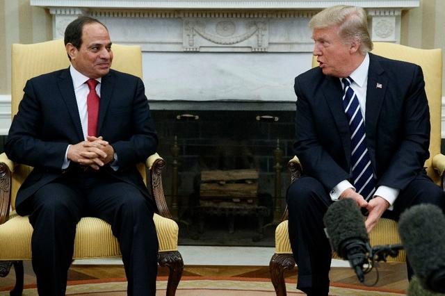 Le président égyptien Abdel Fattah al-Sissi a rencontré le président américain Donald Trump.