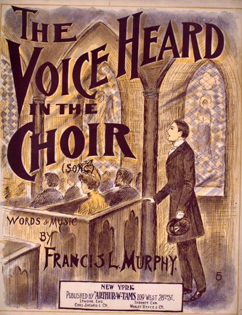 Chanteur d'église