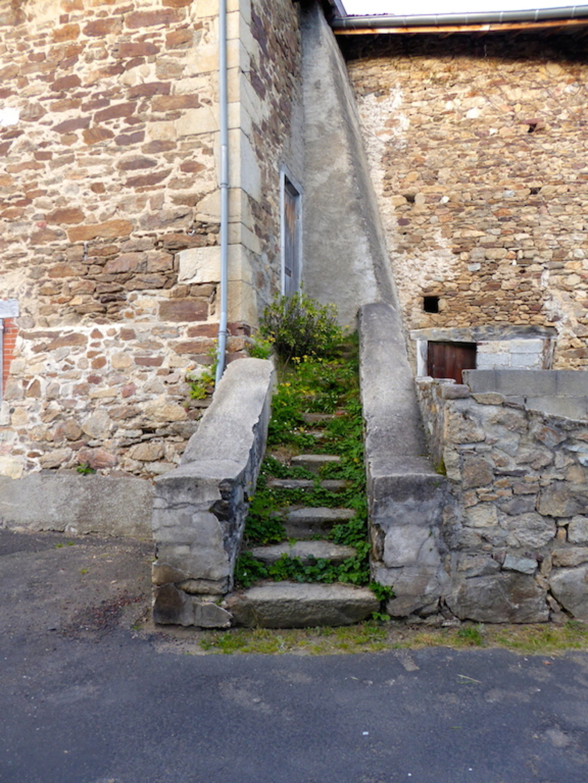 Champagnac le Vieux, le village.