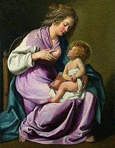 artemisia-gentileschi-vierge-allaitant-1616-18