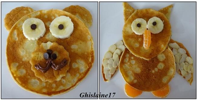 "Mes pancakes ""Animaux"""