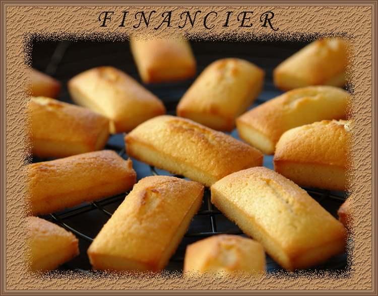 Recette de cuisine : Financier