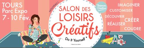 Loisirs créatifs Tours (7 au 10 février)