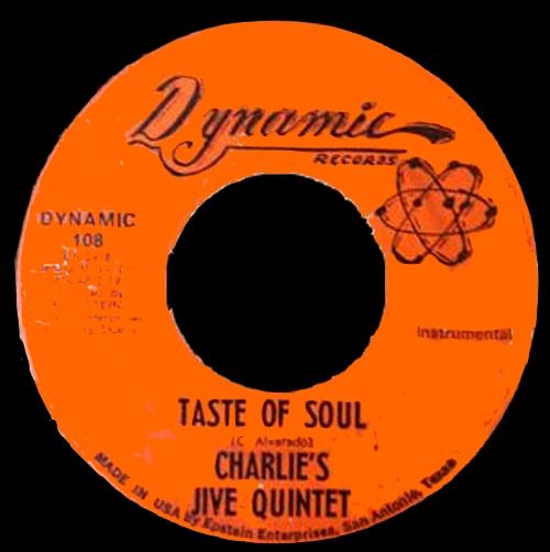 Charlie's Jive Quintet : Taste Of Soul