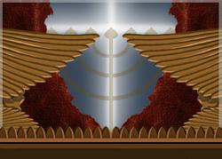 Parachiyoth doubles: « Aharey Moth » (après la mort) « Qedochiym » (Saints vous serez)