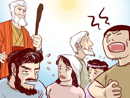Les 10 commandements (visuels)