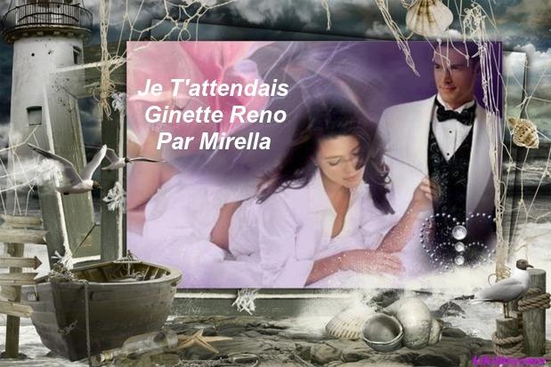 Je T'attendais    Ginette Reno     Par Mirella