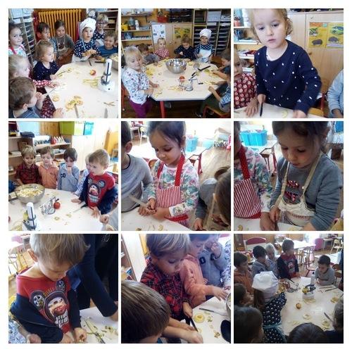 Atelier compote de pommes