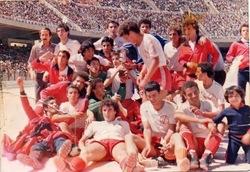 "Juniors : 19.6.1979 au Stade du ""5 juillet 1962"" CM Belcourt - JE Tizi-Ouzou 2-0"