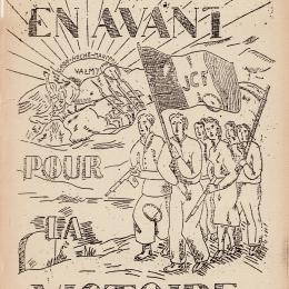 Tract de la Jeunesse communiste de la Ré ...