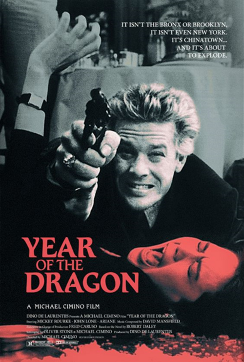 L'année du dragon, Year of the dragon, Michael Cimino, 1985.