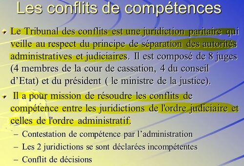 Le principe de séparation des juridictions et sa garantie