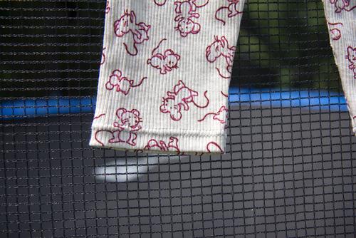 Mylène - Couture : Une série de leggings