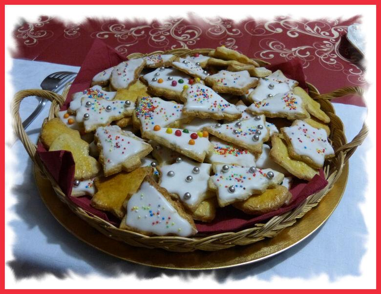 Les petits gâteaux de Noël ..