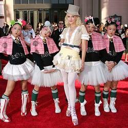 Gwen Stefani et les Harujuku Girls