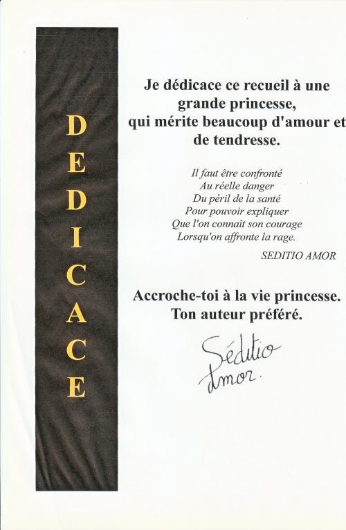 Receiul a lire ...impérativement sublime-Séditio-Amor